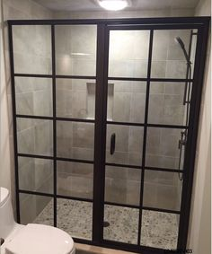 Gallery - GlassCrafters Blog Modern Shower, Modern Bathroom, Bathroom Ideas, Shower Enclosure, Shower Doors, Showroom, Sweet Home, Architecture, Gallery