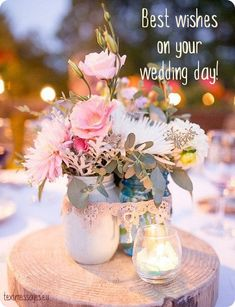 Short Wedding Wishes, Quotes & Messages (With Images) Wedding Congratulations Wishes, Wedding Wishes For Friend, Congrats On Your Wedding, Happy Wedding Anniversary Cards, Wedding Wishes Messages, Wishes For The Bride, Happy Wedding Day, On Your Wedding Day, Birthday Cards Images