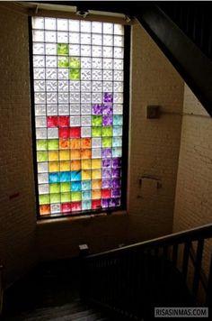 La ventana Tetris.