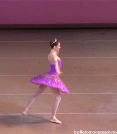 Svetlana Zakharova. God her balance, and strength, and fexibility, and everything ugh