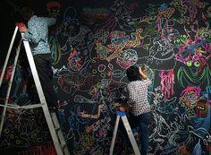 """parede """"sua arte"""""""