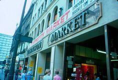 Kensington Market -London Street Scenes in 1976 Vintage London, Old London, West London, Kensington And Chelsea, Kensington London, London Street, London City, Earls Court, London Summer