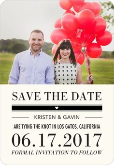 Ticket to Wed - Save the Date Magnets - Chewing the Cud - Black : Front