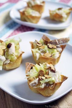 Asian chicken salad cups are a fun and easy appetizer, perfect for enjoying while swapping stories with friends!