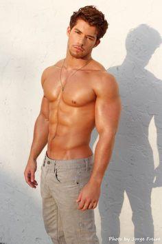 Julian Gabriel © JORGE FREIRE www.modelmayhem.com/psm # men hot guy abs pecs eye candy bare chest hunk nice arms male fitness model body adonis shirtless latino