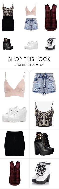 """""""Untitled #105"""" by mys-rugbjerg-risbank-jensen on Polyvore featuring Alexander McQueen, Boohoo and Forever New"""