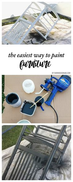 Painting Furniture the Easy Way