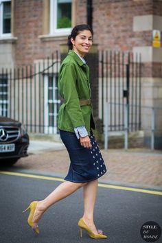 London SS 2017 Street Style: Caroline Issa