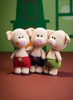 Amigurumipatterns.net - Books - Zoomigurumi, Amigurumi Winter Wonderland & Amigurumi Animals at Work