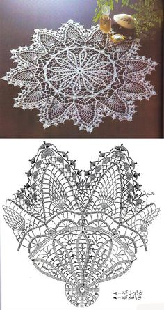 Learn to knit and Crochet with Jeanette: Patterns of crochet doilies. Free Crochet Doily Patterns, Crochet Doily Diagram, Crochet Motifs, Crochet Art, Thread Crochet, Filet Crochet, Crochet Designs, Knitting Patterns, Crochet Dollies