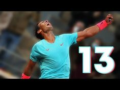 13 Points Why Rafael Nadal is the KING of Roland Garros!! Rafael Nadal, Roger Federer, Champion, King, Youtube, Tennis, Tv, Roland Garros, Television Set