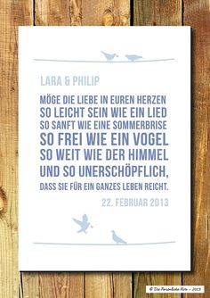 The most beautiful blessings and blessings for the wedding - Sprüche - hochzeit Wedding Posters, Wedding Prints, Wedding Quotes, Wedding Wishes, Wedding Cards, Diy Wedding, Dream Wedding, Happy Quotes, Life Quotes