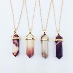 Moukaite on Gold – Stargaze Jewelry