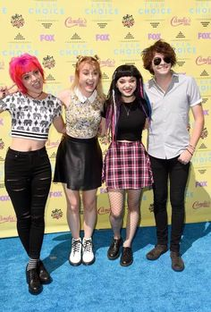 Hey Violet at the 2015 Teen Choice Awards
