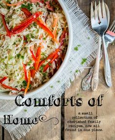 Comforts of by Book Title: Cooking | Blurb Books