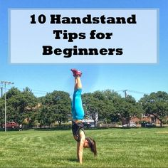 10 handstand tips for beginners