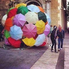 Barcelona, plaza de la merce