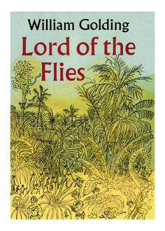 The Lord of the Flies Book Jacket  Print 8x10 by JustPrints, $8.95
