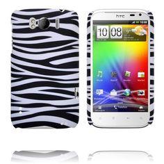 Safari Fashion (Horizontell Zebra) HTC Sensation XL-Skal