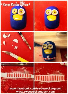 A Captain Minion tutorial. You can find it also on my facebook page and on my web site a PDF version. Very easy to Follow!