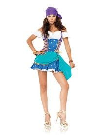 Gypsy Princess Adult Womens Costume