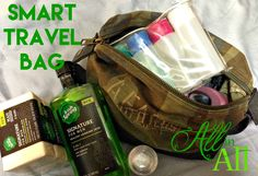 Smart Travel Bag - Great ideas for building a perfect travel bag to grab and go! #MySignatureMove #Ad