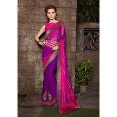 Sahiba Kriya KR-007 (fuchsia pink and purple)