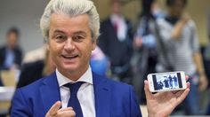 Pravicový populista Geert Wilders.