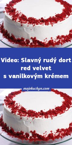Red Velvet, Cheesecake, Food, Cheese Cakes, Eten, Cheesecakes, Meals, Diet