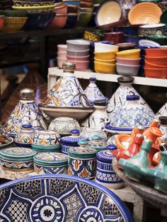 tagines in the medina | a guide to shopping in marrakech from coco kelley