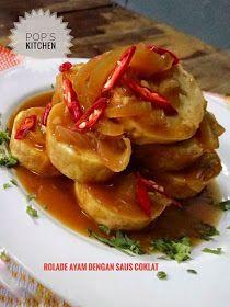 Resep Rolade Daging Sapi Dengan Saus Coklat Resep Masakan Indonesia Daging Sapi Makanan Dan Minuman