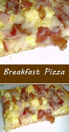 Good Morning Breakfast, Breakfast Bites, Breakfast Pizza, Breakfast Casserole, Brunch Recipes, Breakfast Recipes, Breakfast Specials, Cords, Cooking Recipes