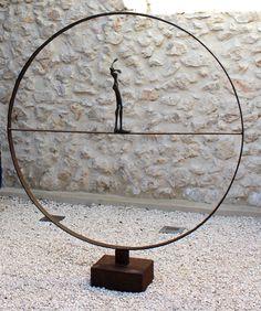 Equilibre Bronze, acier www.sourski.com
