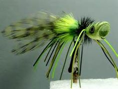 large mouth bass fishing fly patterns popper - Bing Images