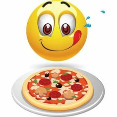 An entire pizza just for me? Smiley Emoticon, Animated Smiley Faces, Emoticon Faces, Animated Emoticons, Funny Emoticons, Funny Emoji, Emoji Pictures, Emoji Images, Emoji Love