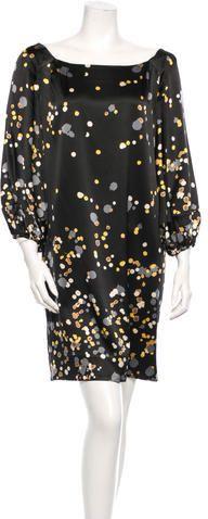 Diane von Furstenberg Silk Dress   |  ≼❃≽ @kimludcom