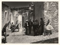 Jean Dieuzaide, Oliéna, Sardaigne, 1956.