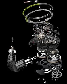 Interesting exploded view of HYT H2 movement. What do you think guys?