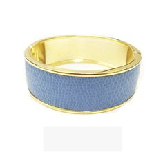 Lydell Blue Snakeskin Bangle, People Style Watch April 2012