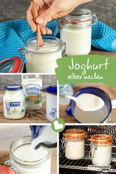 With this method you can easily make creamy or creamy yogurt without a yogurt machine. You can also save on waste and packaging. Best Picture For healthy food meals For … Healthy Eating Tips, Healthy Nutrition, Clean Eating, Spelling And Handwriting, Yogurt Maker, Vegetable Drinks, Easy Food To Make, Kefir, The Flash