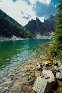 lake angus, banff national park