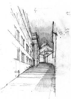 Daniel Mowery // Stair as Enclosure | Palazzo del Quirinale, Fontana & Maderno, Rome 1573