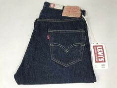 07a3ed52 Levis LVC 501XX 1955 Vintage VTG Jeans 29x34 Selvedge Cone Mills Denim $240  MSRP