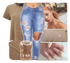 """"""""""" by lamamig ❤ liked on Polyvore featuring MINKPINK, Sonix, MICHAEL Michael Kors and UGG Australia"""