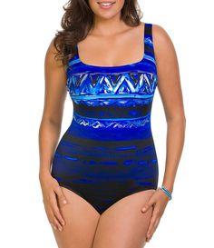 7dc58a5a6a8 Longitude Havana Cabana X-Back Tank One-Piece Longitude Swimwear