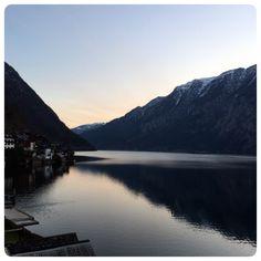 Guten Morgen from my room view, Hallstatt, Austria.