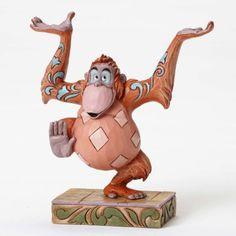 Release Date July 2016. PRE-ORDER: 'Jingle VIP' - King Louie figurine (Jim Shore) from Fantasies Come True