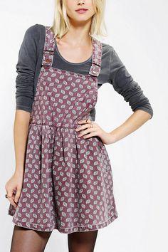 Cassette Society Boulevard Overall Skirt