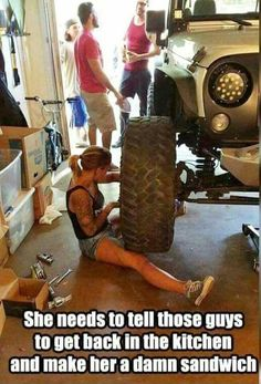 The REAL version of a jeep girl