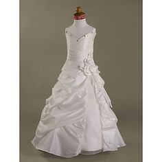 DAGNA - Vestido de Florista de Organza y Tafetán – USD $ 69.99
